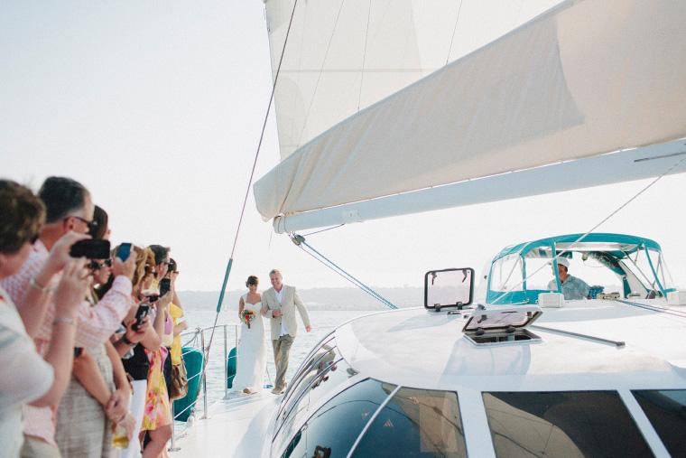 San Diego Wedding Amp Reception Venue Aolani Boat Charter