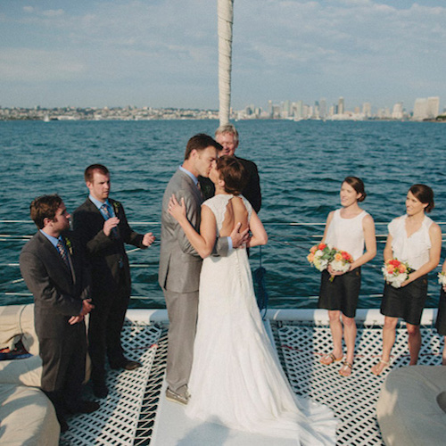 San diego wedding reception venue aolani boat charter with our experienced crew we can take care of any or all the wedding planning we can plan out every detail from the ceremony and reception to the junglespirit Choice Image