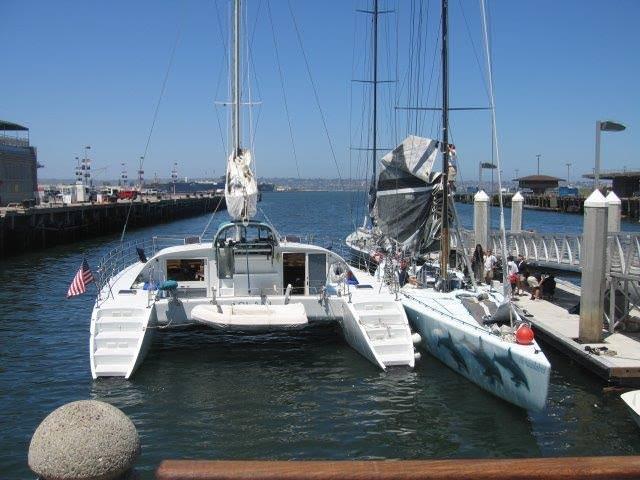 San Diego Sailing Photo Gallery Aolani Catamaran