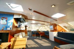 Aolani Catamaran salon