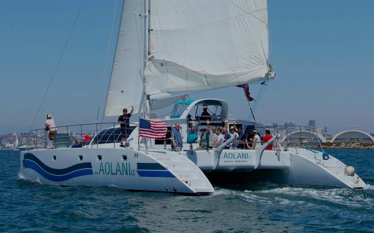 Aolani-Catamaran-Sailing